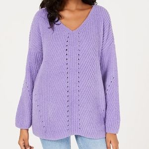 ✨NWT✨ Style & Co Cozy Chenille Sweater in Purple
